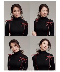 袁詠儀時尚雜志封面寫真圖片