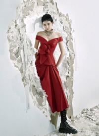 古力娜扎短发造型时尚写真大片