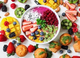 一组五彩斑斓的水果图片欣赏