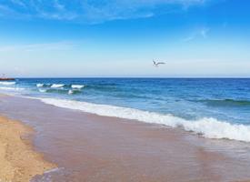 精選唯美海灘風光圖片桌面壁紙