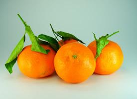看上去就很甜的橘子图片
