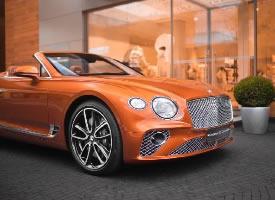 Bentley Continental GT Convertible 漂亮极了