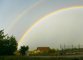 美丽的彩虹图片