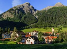 瑞士风景壁纸图片