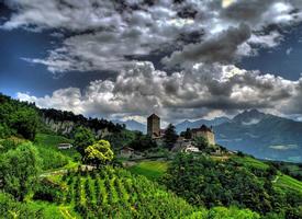 意大利南蒂罗尔风景图片