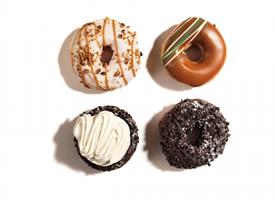美味可口甜甜圈图片