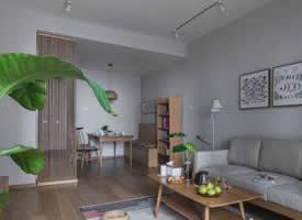 94平日式风格三居室