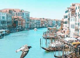 蓝色调的威尼斯,海洋的气息