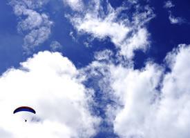 蔚蓝的天空蓝天白云图片