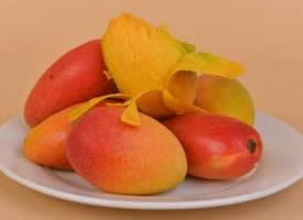 新鲜可口的芒果图片欣赏