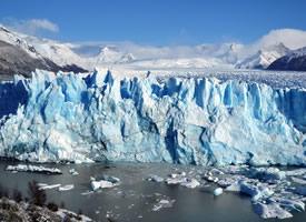 唯美冰川图片壁纸