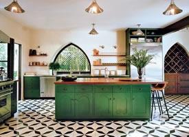 淡绿色的清新厨房系列