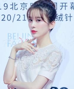 赵樱子2019北京时装周开幕式图片
