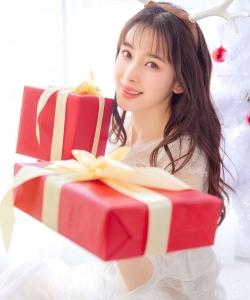赵韩樱子梦幻唯美圣诞写真高清图片