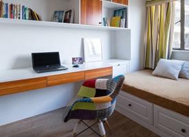 小户型书房,节省空间又实用