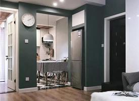 68平简约风小户型二居室,紧凑实用还很好看