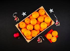 新鲜可口的柑橘图片欣赏