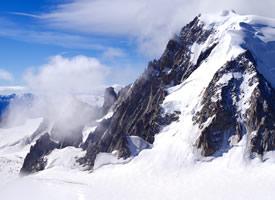 阿尔卑斯山最高峰白朗峰