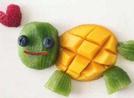 简单漂亮小朋友喜欢的水果拼盘