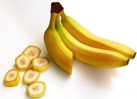 一组成熟的香蕉图片欣赏