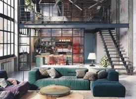 loft 满足了我对家所有的想象
