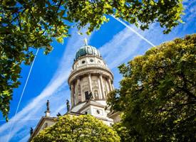 宏伟壮观柏林大教堂景观图片