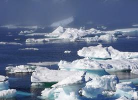 神奇美丽的极地冰川图片