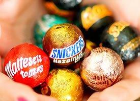 五彩美味的糖果图片