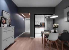 78㎡简约二室,书房的折叠床,小空间利用出新花样