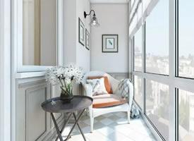 阳台上的休闲时光,你家也可以拥有