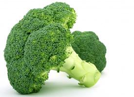 营养丰富的绿色蔬菜西兰花图片