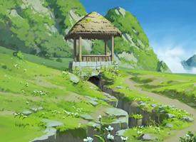 动漫场景原画桌面壁纸图片
