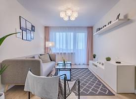 小清新简约风格的客厅设计图片