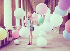 色彩斑斓的气球你会喜欢吗
