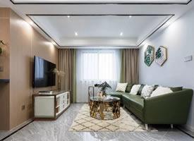 70㎡现代小二房,华丽舒适,浪漫精致