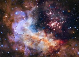 神秘广阔的宇宙星云图片