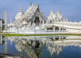 一组泰国白庙图片欣赏