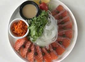 好吃的三文鱼美食图片