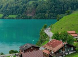 一组春季盎然的瑞士美景图片