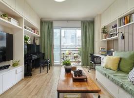 88平现代风格二居室,小家的收纳法则