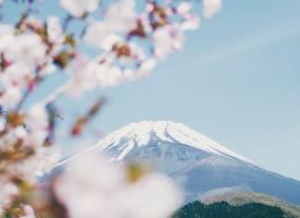 日本最高的山峰富士山图片