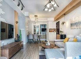 84平精致北欧风二居室,温馨舒适的简约小家