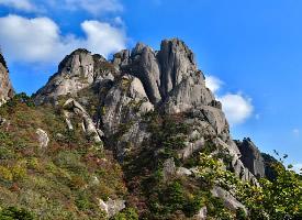 十月的安徽黄山高清风景欣赏