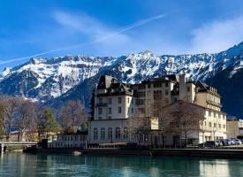 瑞士因特拉肯小镇,静谧的北欧乡村生活