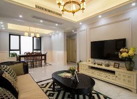 120平美式风格,低调内敛的家居生活