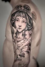 太原纹身 山西太原宝刺青的几款店内作品