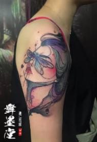 潮州纹身 广东潮州舞墨堂的几款纹身店作品