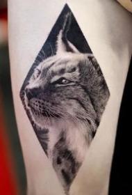 铲屎官专属的一组9款猫纹身图案