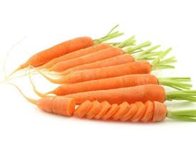 一组营养好吃的胡萝卜图片