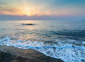 清晨的大海风景壁纸